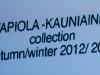 Ivana Helsinki by Paola Ivana Suhonen FW 12/13 (Suomija)