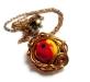 Apple Nest Necklace; Kaina: $35.00 USD