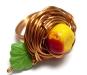 Gathering Apples Ring; Kaina: $35.00 USD
