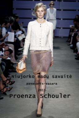 Proenza Schouler pavasaris/vasara 2011