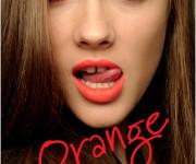 Tegyvuoja oranžinės lūpos
