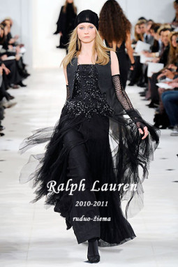 Ruduo ir žiema pagal Ralph Lauren