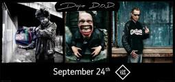 The Rap Invasion@Loftas: DOPE D.O.D. & Gatvės Lyga Soundsystem