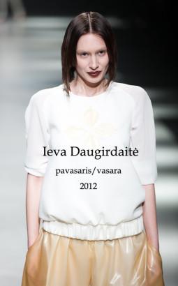 Ieva Daugirdaitė S/S 2012