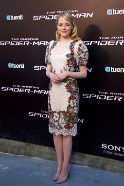 Emma Stone suknelė filmo premjeroje