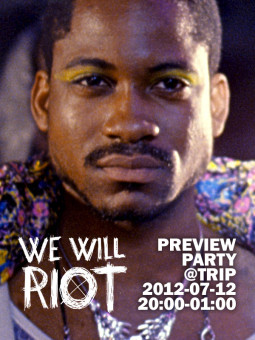"""We will riot"" filmo vakarėlis!"