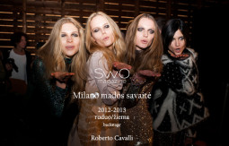 Roberto Cavalli ruduo/žiema 2012-2013 | backstage