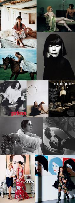 """Dizainerės-ikonos, atsidūrusios ,,Vogue"""" puslapiuose. Pirma dalis"""