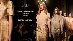 Gabriele Colangelo žiema 2013. Kolekcija Milane ir užkulisiai