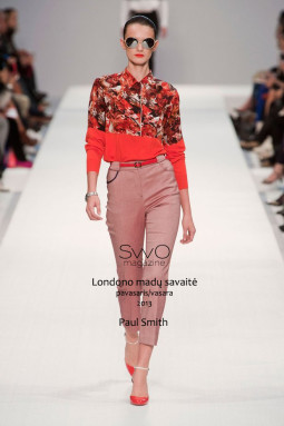 Paul Smith SS 2013. Londono madų savaitė