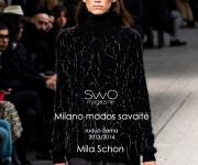 Mila Schon FW 13/14. Milano mados savaitė