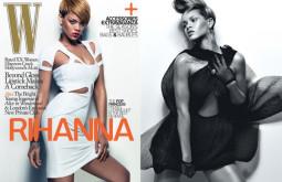 Rihannos fotosesija:'W magazine' 2010