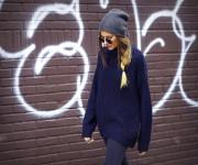Penktadienio derinys: maksi megztinis