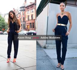 Blogerių dvikova: Ashley Madewke prieš Aimee Song