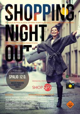 Vilniaus senamiestyje – apsipirkimo naktis