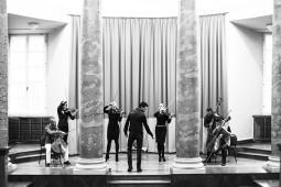 Prieš koncertą rotušėje SwO lankosi NI&Co repeticijoje