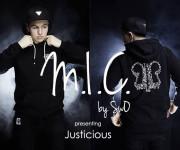 Hip–hop ir urban bass atspalviai Justicious kūryboje