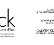 Tiesioginė Calvin Klein FW 14/15 kolekcijos transliacija!