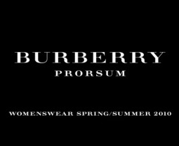 Burberry Prorsum pavasaris/vasara 2010 (1-ą dalis)