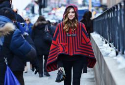 Penktadienio įvaizdis: Niujorko mados savaitės stiliumi