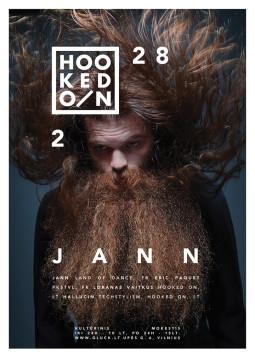 """Vakarėlis penktadieniui su """"Hooked On"""" ir prancūzu Jann"""