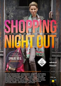 """Jau antrą kartą Vilniuje šėls mados naktis – """"Shopping Night Out"""""""