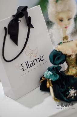 """Elegantiškai pristatytos prabangios šilkinės ,,Ellamé"""" veido kaukės"""