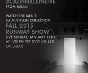 """""""Calvin Klein Collection"""" gyvai SwO.lt portale"""