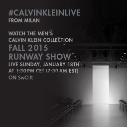 """Calvin Klein Collection"" gyvai SwO.lt portale"