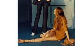 """""""Zara"""" 2015 m. pavasario reklaminė kampanija"""