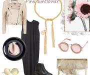 Rožinė saulėgrąža