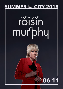Vilniuje birželį koncertuos Roisin Murphy
