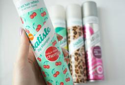 """Produktų apžvalga: """"Batiste"""" sausi šampūnai"""