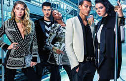 "Kendall Jenner – ""Balmain x H&M"" reklaminėje kampanijoje"