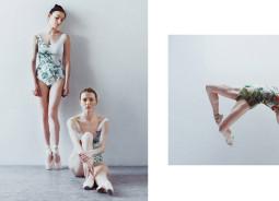 Baleto šokėjos – naujausioje DUE Fashion fotosesijoje