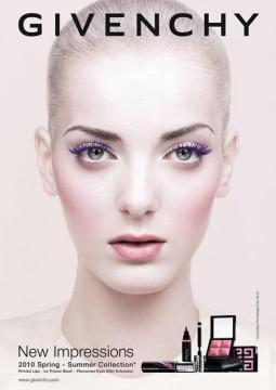 Givenchy 2010 pavasario/vasaros Make- up  kolekcija