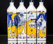 """Lietuvio sukurtas dizainas puoš """"Blue Label"""" viskio butelius"""