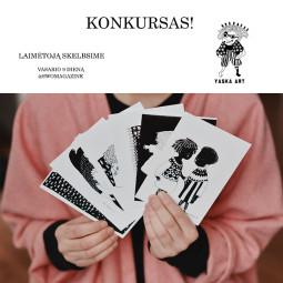 "DOVANA – ""Yaska Art"" atvirukų kolekcija"