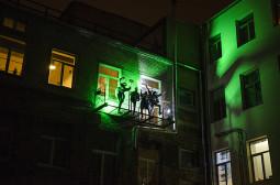 Vilniečiai kviečiami į vakarėlį… balkone