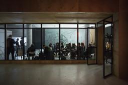 57-oji Venecijos bienalė. Spaudos konferencija
