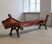 """Mobili šiuolaikinės skulptūros paroda """"Vakarop"""""""