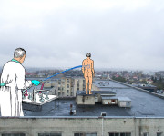 """Gabrielės Gervickaitės parodoje """"03"""" – sovietmečio medicinos refleksijos"""