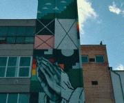 Naktinė gatvės meno ekskursija po industrinį kvartalą