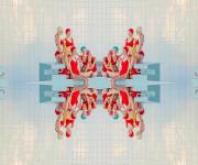 Instagram lobis: Maria Švarbova ir jos baseinas