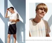 Due. pristato M. K. Čiurlionio marškinėlių ir tamprių fotosesiją