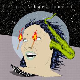 """Elektrifikuoto saksofono skambesio albumas """"Saxual Harassment"""""""