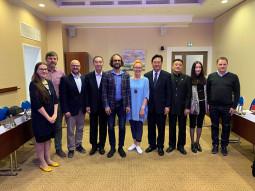 Vilniuje – Kinijos filmų grupės korporacijos atstovai