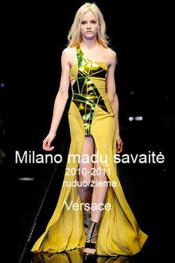 Versace ruduo/žiema 2010-2011
