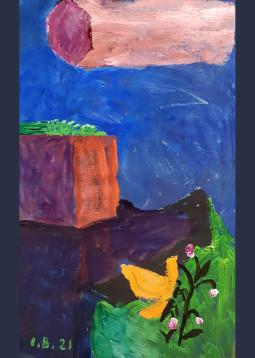 """Inos Budrytės tapybos paroda """"Iškasti ir išnirę"""""""