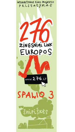 276 žingsniai link Europos